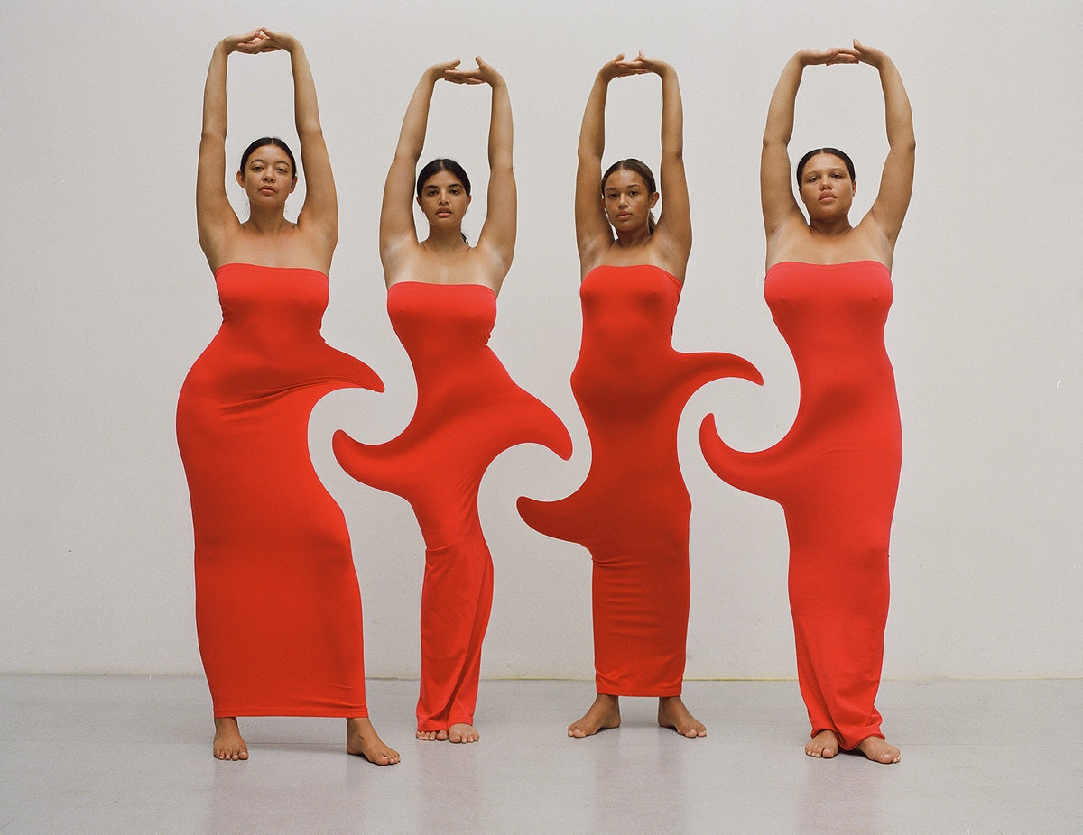 Four Red Merging Bodies for Numéro Berlin