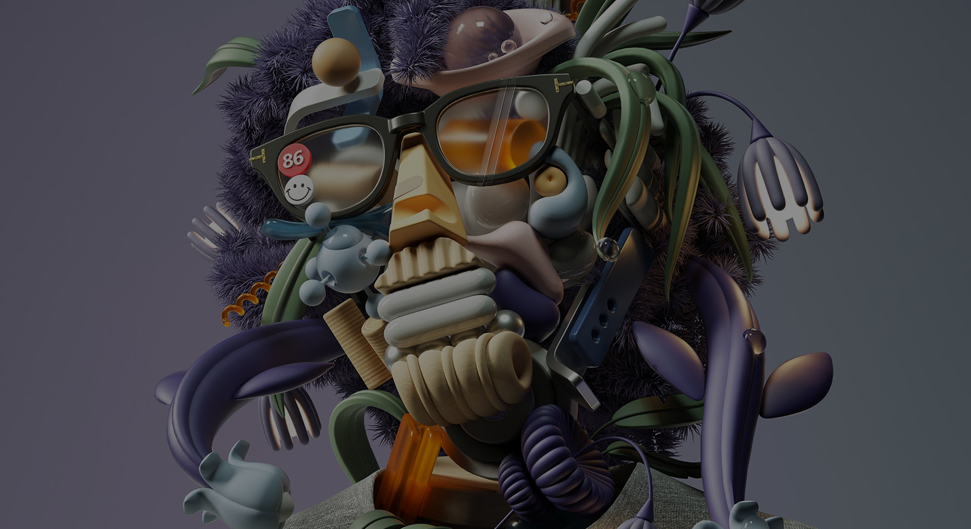 Art from graphic designer and digital artist, Omar Aqil. Digital art. CGI. Animation. Fine art. Grap...