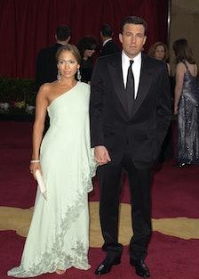 Jennifer Lopez and Ben Affleck at the Oscars