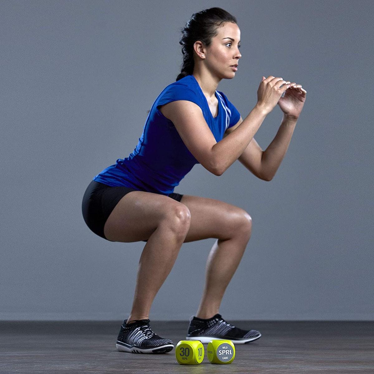 SPRI Exercise Dice (6-Sided)