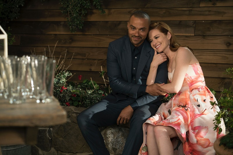 Jesse Williams & Sarah Drew as Jackson Avery & April Kepner in 'Grey's Anatomy'