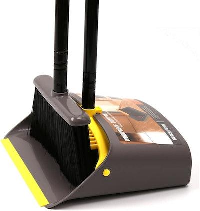 TreeLen Broom and Dustpan Set