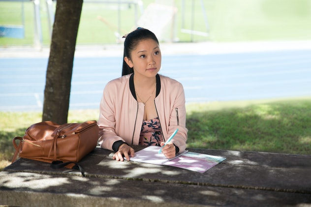 Lana Condor stars in the Netflix film trilogy, 'To All The Boys I've Loved Before.'