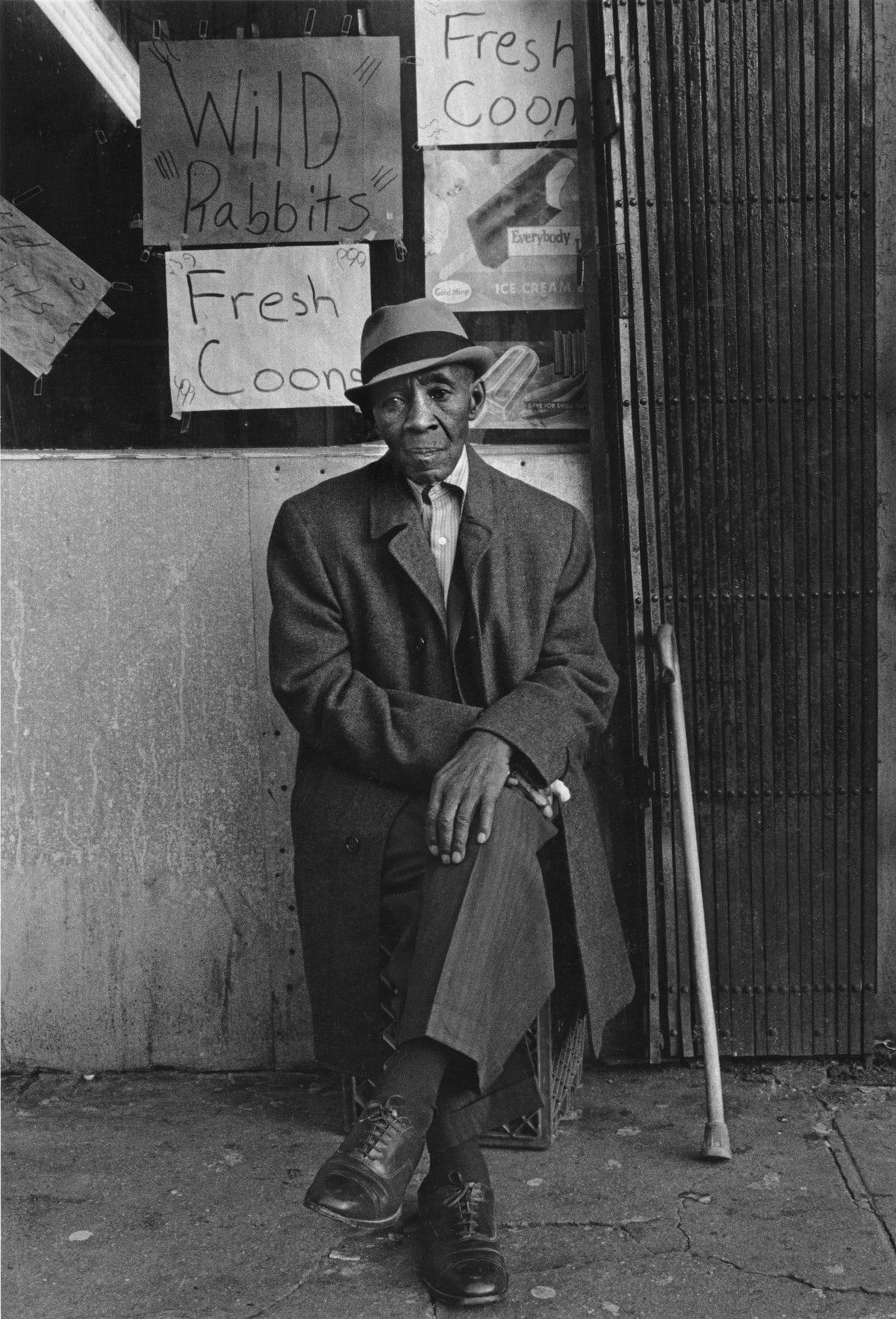 A man photographed by Dawoud Bey