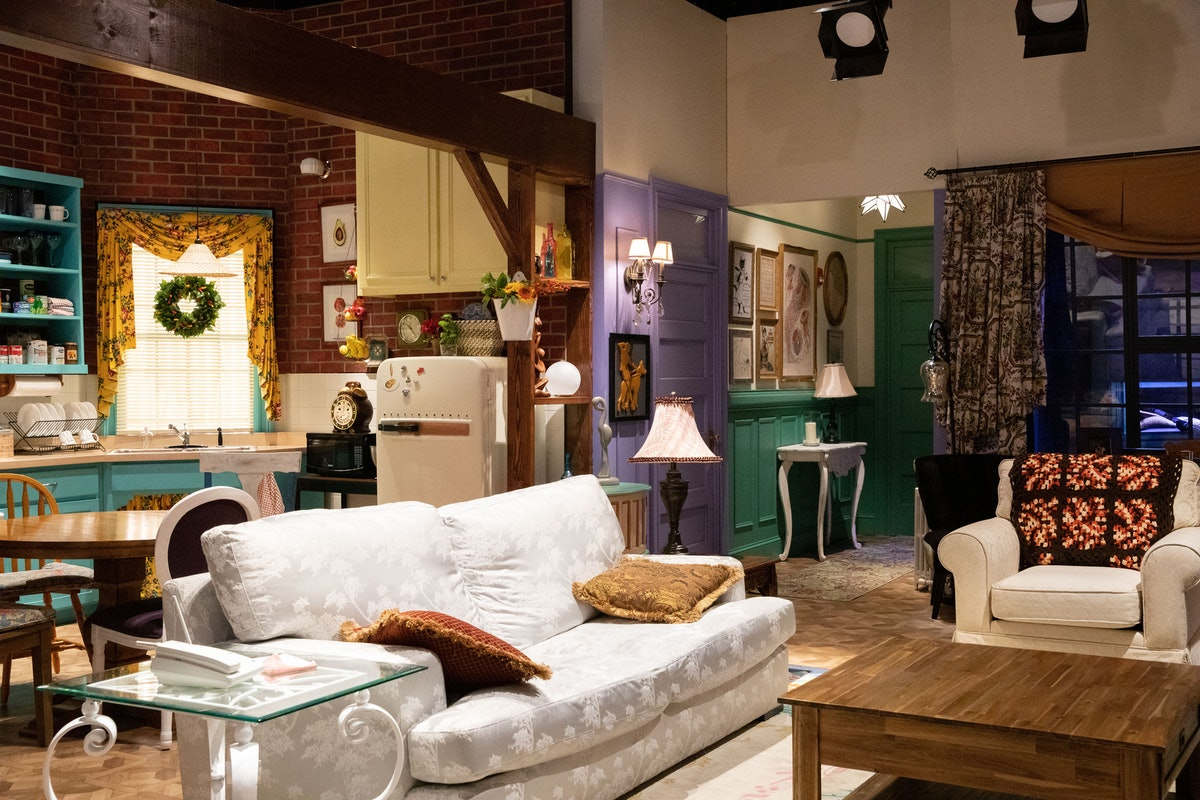 The 'Friends' Experience in NYC has a recreation of Monica and Rachel's apartment from 'Friends.'