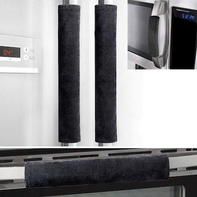 OUGAR8 Refrigerator Door Handle Covers (4-Pack)