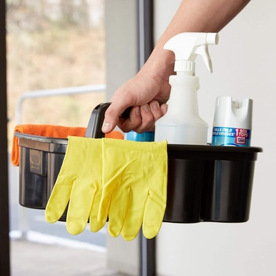 Rubbermaid Deluxe Caddy for Cleaning Supplies