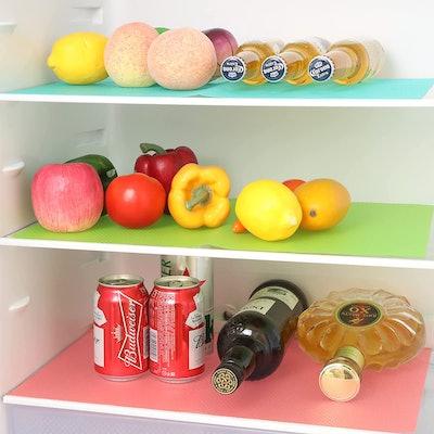 BAKHUK Refrigerator Shelf Liners (9-Pack)