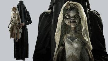 resident evil village donna beneviento doll concept art