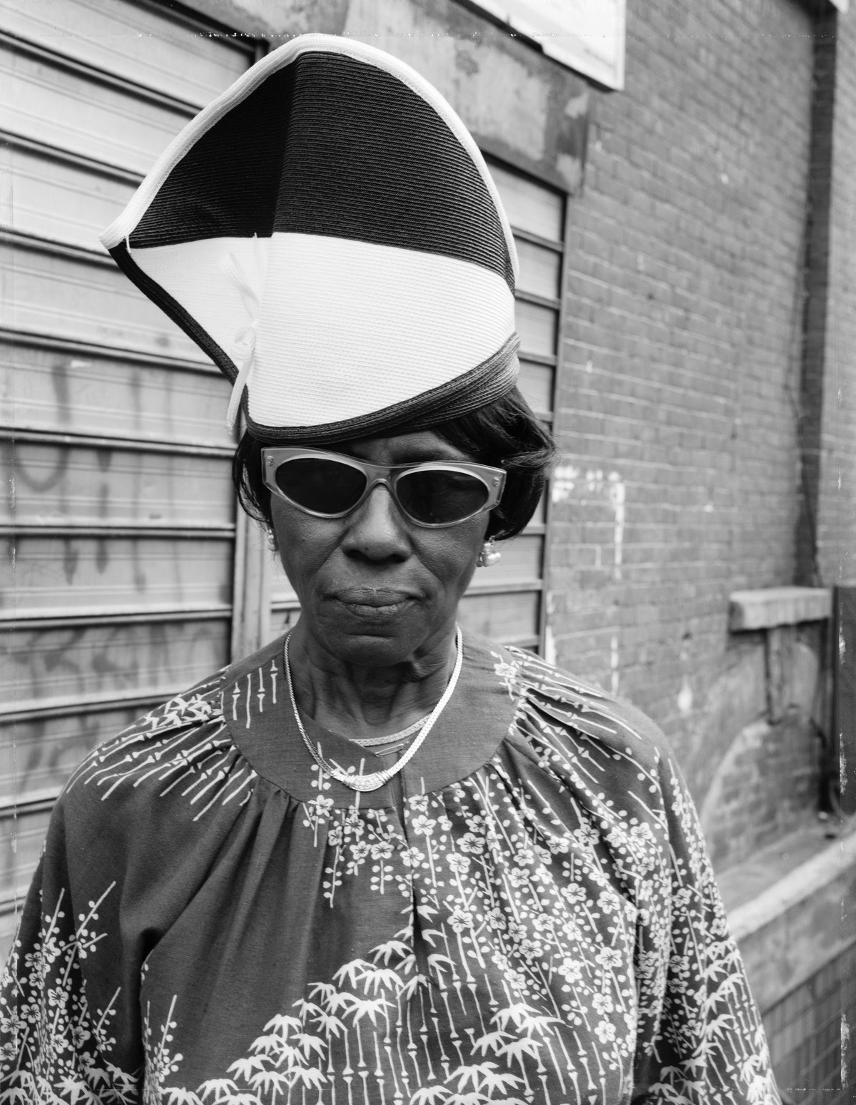 A woman photographed by Dawoud Bey
