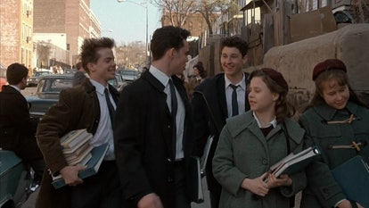 Patrick Dempsey made an early career appearance in 'Heaven Help Us.' Screenshot via HBO Max
