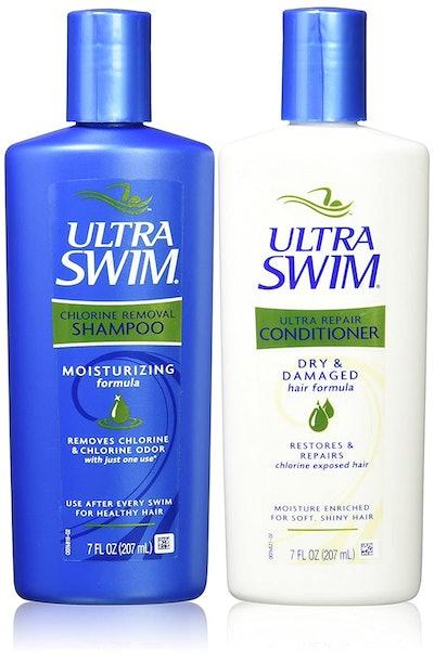 UltraSwim Dynamic Duo Repair Shampoo & Conditioner, 7 Oz. Each