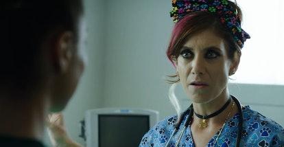 Kate Walsh appears in '#realityhigh.' Screenshot via Netflix