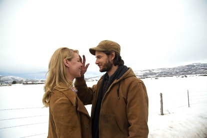 Katherine Heigl and Ben Barnes star together in 'Jackie & Ryan.' Photo via Highland Film Group