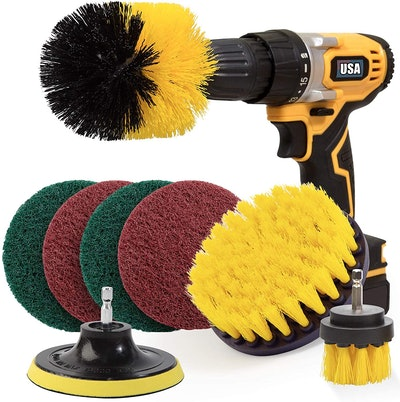 Holikme Drill Brush Attachment Set (8 Pieces)