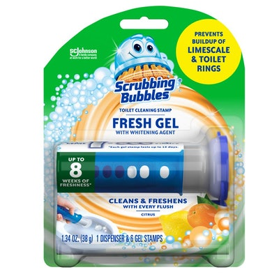 Scrubbing Bubbles Gel Toilet Bowl Cleaning Stamps