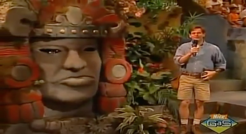 'Legends of the Hidden Temple' Revival Coming To The CW. Photo via Nickelodeon