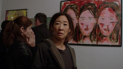 Sandra Oh stars in 'Catfight.' Photo via Dark Sky Films