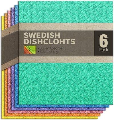 cce Swedish Dishcloths (6-Pack)