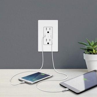 TOPGREENER USB Wall Outlet Charger