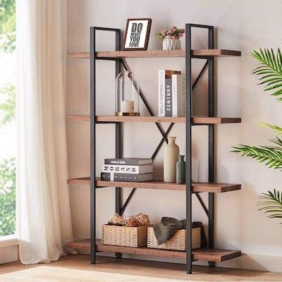 HSH Solid Wood Étagère Bookcase