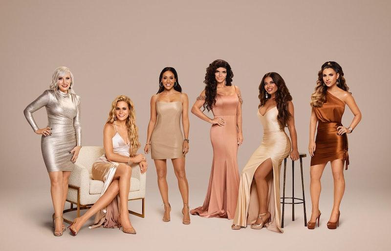 'The Real Housewives of New Jersey' Season 11 cast members: Margaret Josephs, Jackie Goldschneider, Melissa Gorga, Teresa Giudice, Dolores Catania, and Jennifer Aydin