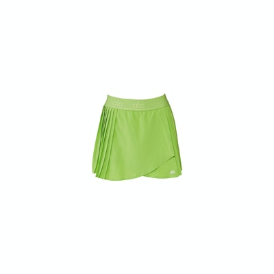 Aces Tennis Skirt in Green Apple