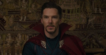 Benedict Cumberbatch as Doctor Strange in Thor: Ragnarok