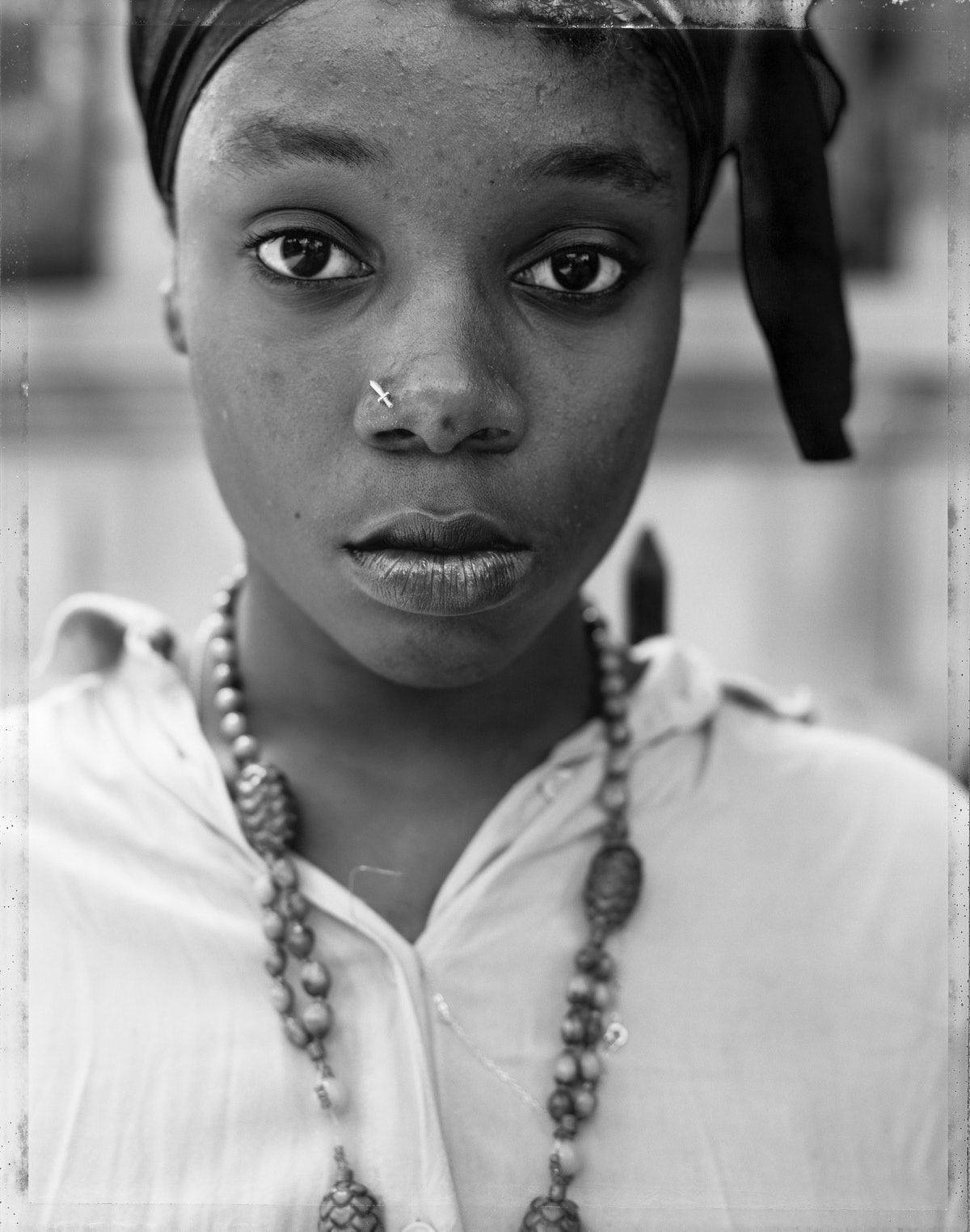 A girl photographed by Dawoud Bey