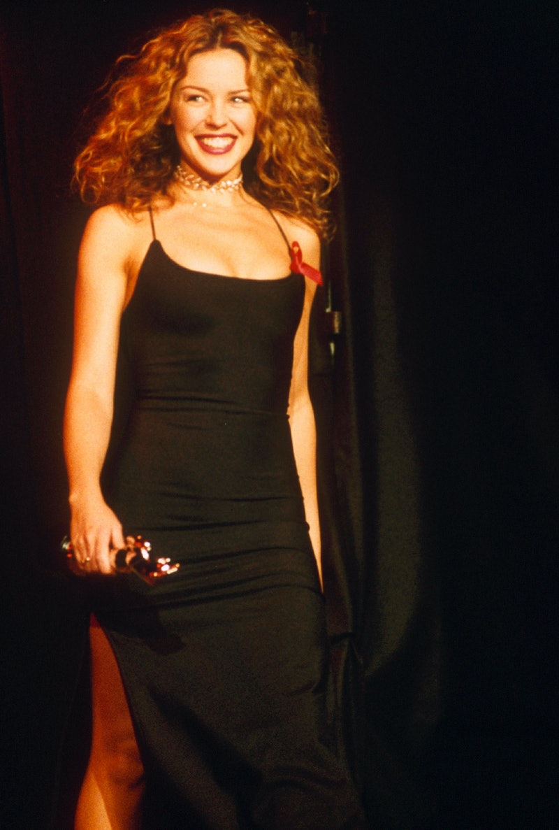 Kylie Minoque at the 1993 BRIT Awards