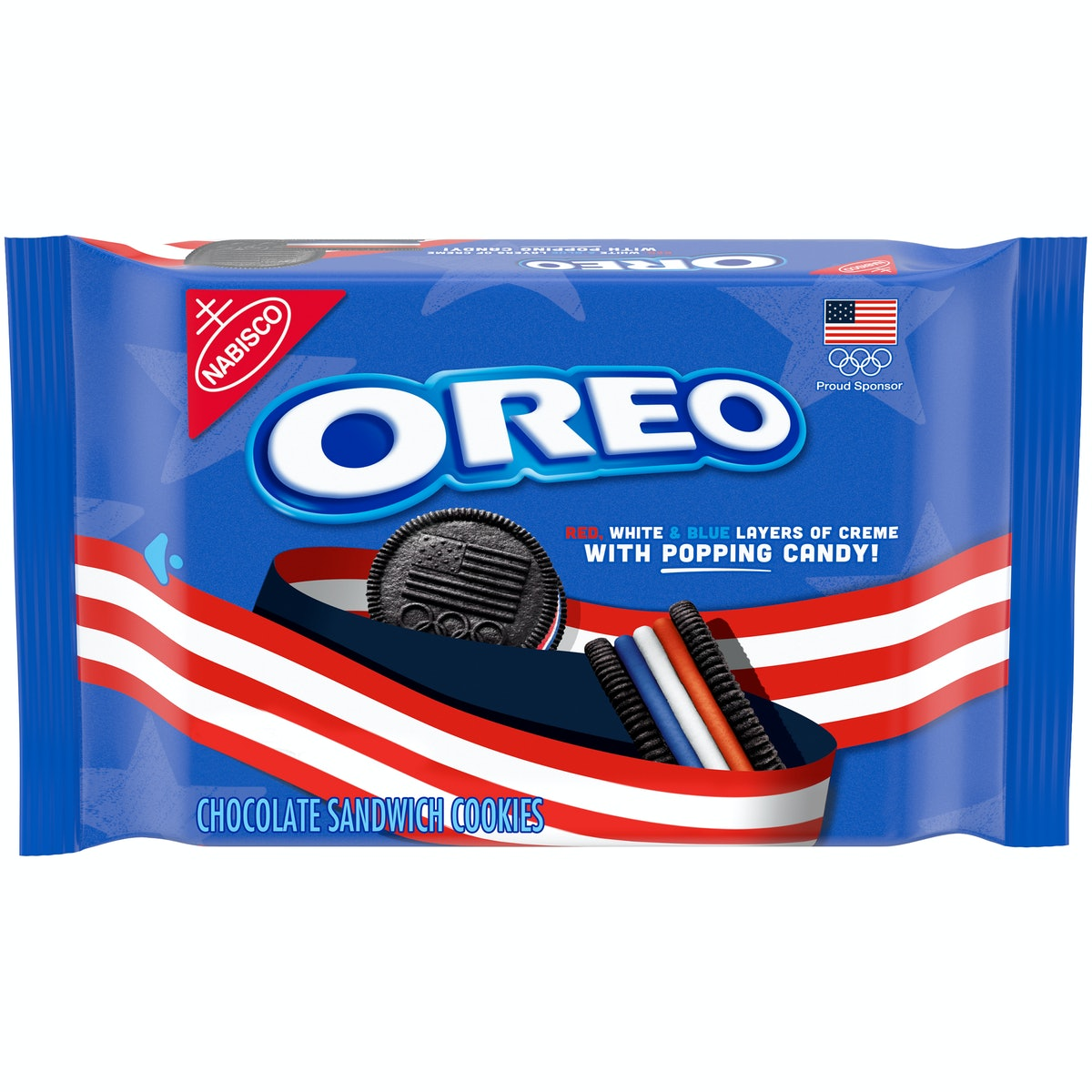 These red, white, and blue Team USA Oreos and Chips Ahoy! cookies put a spin on the bites you know and love.