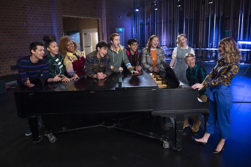 The Season 2 cast of 'High School Musical: The Musical: The Series' via the Disney+ press site