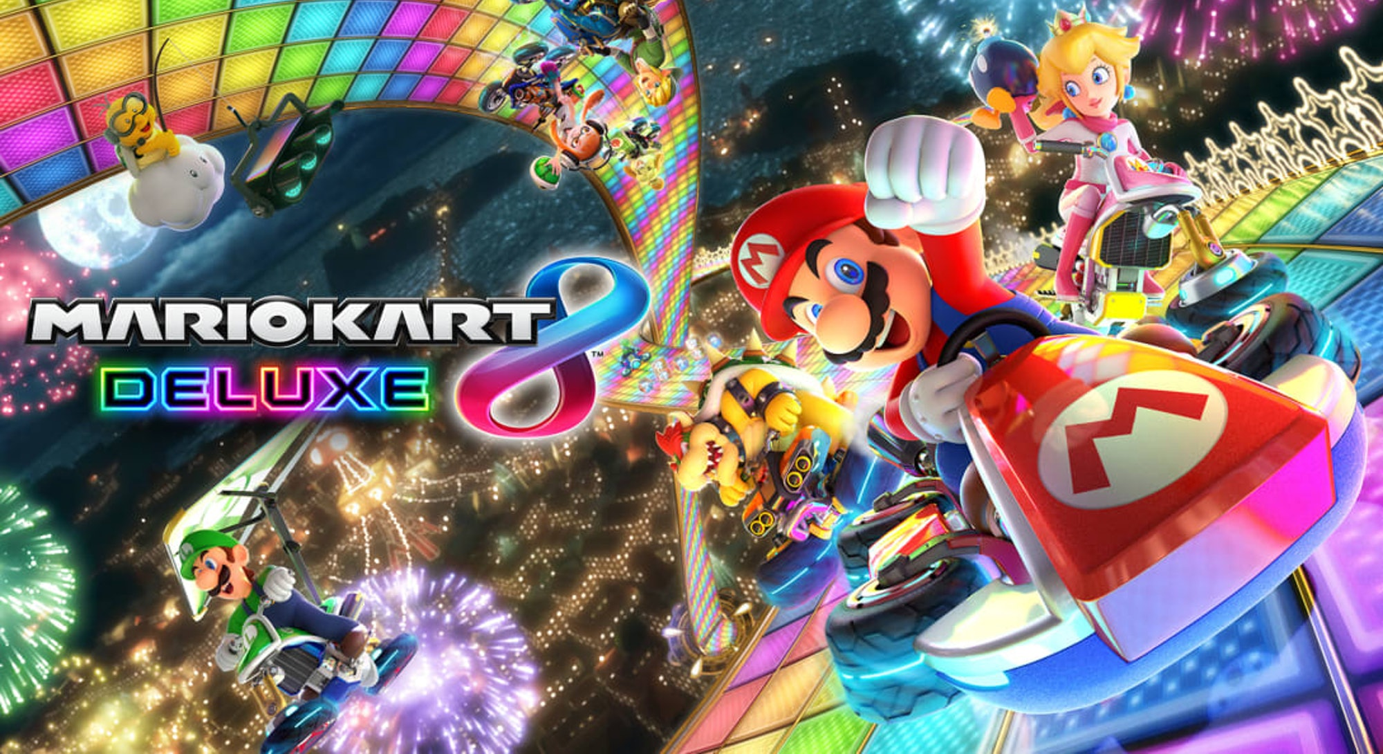 Mario Kart 8 for the Nintendo Switch. Gaming. Games. Video games.