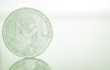 Monero cryptocurrency coin