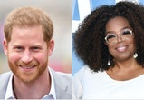 Prince Harry, Duke of Sussex and Oprah Winfrey are the co-creators and executive producers of 'The Me You Can't See' documentary series premiering on AppleTV+.