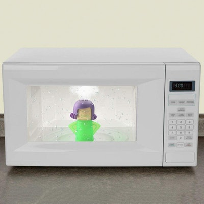 Angry Mama Microwave Cleaner