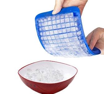 LeeYean Silicone Mini Ice Cube Trays (2-Pack)