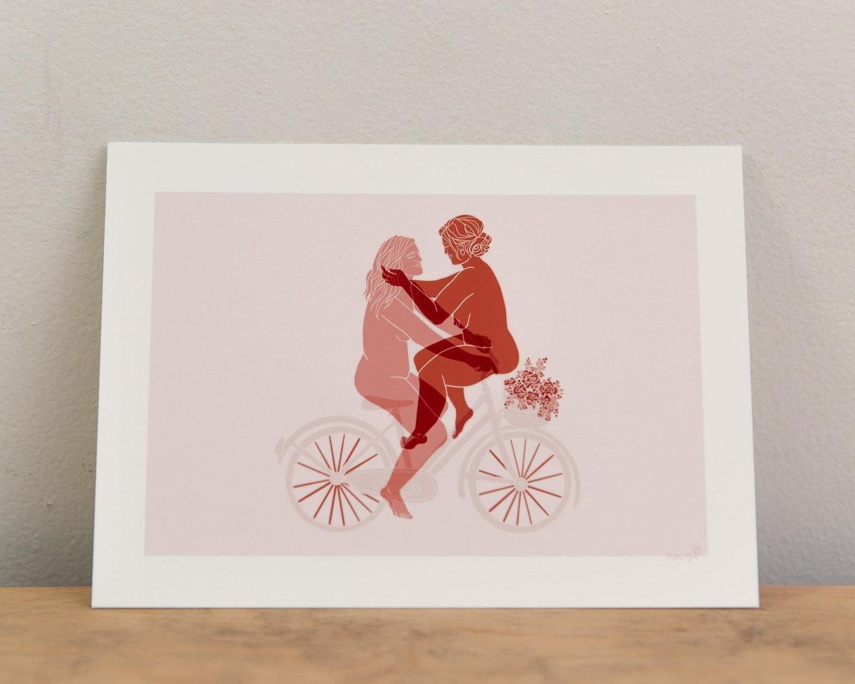 Morgan+Harley Pink Edition Queer Art Print