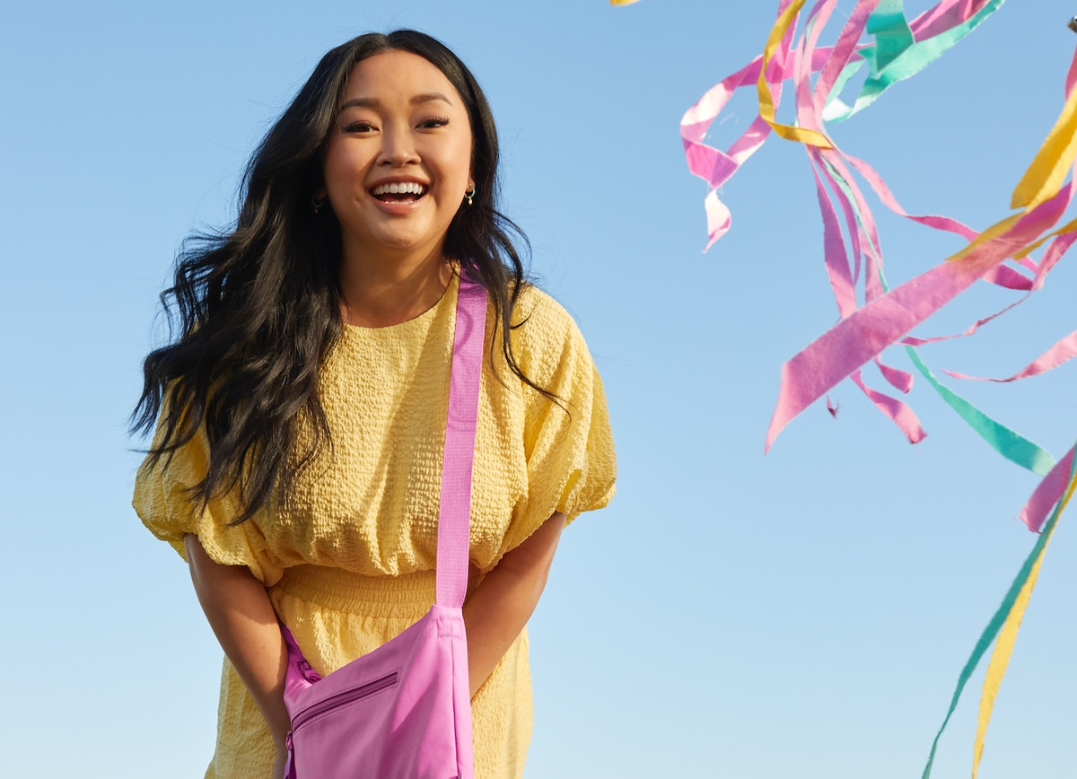 Lana Condor teams up with Vera Bradley for their new Recycled Cotton collection