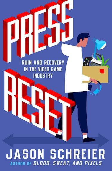 jason schreier book press reset cover art