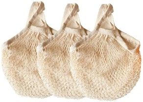 Ahyuan Ecology Mesh Grocery Bags (3-Pack)