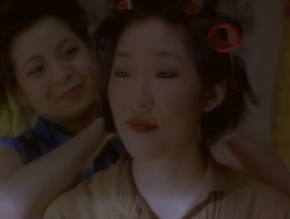 Sandra Oh starred in 'Double Happiness' in 1994. Screenshot via Prime Video