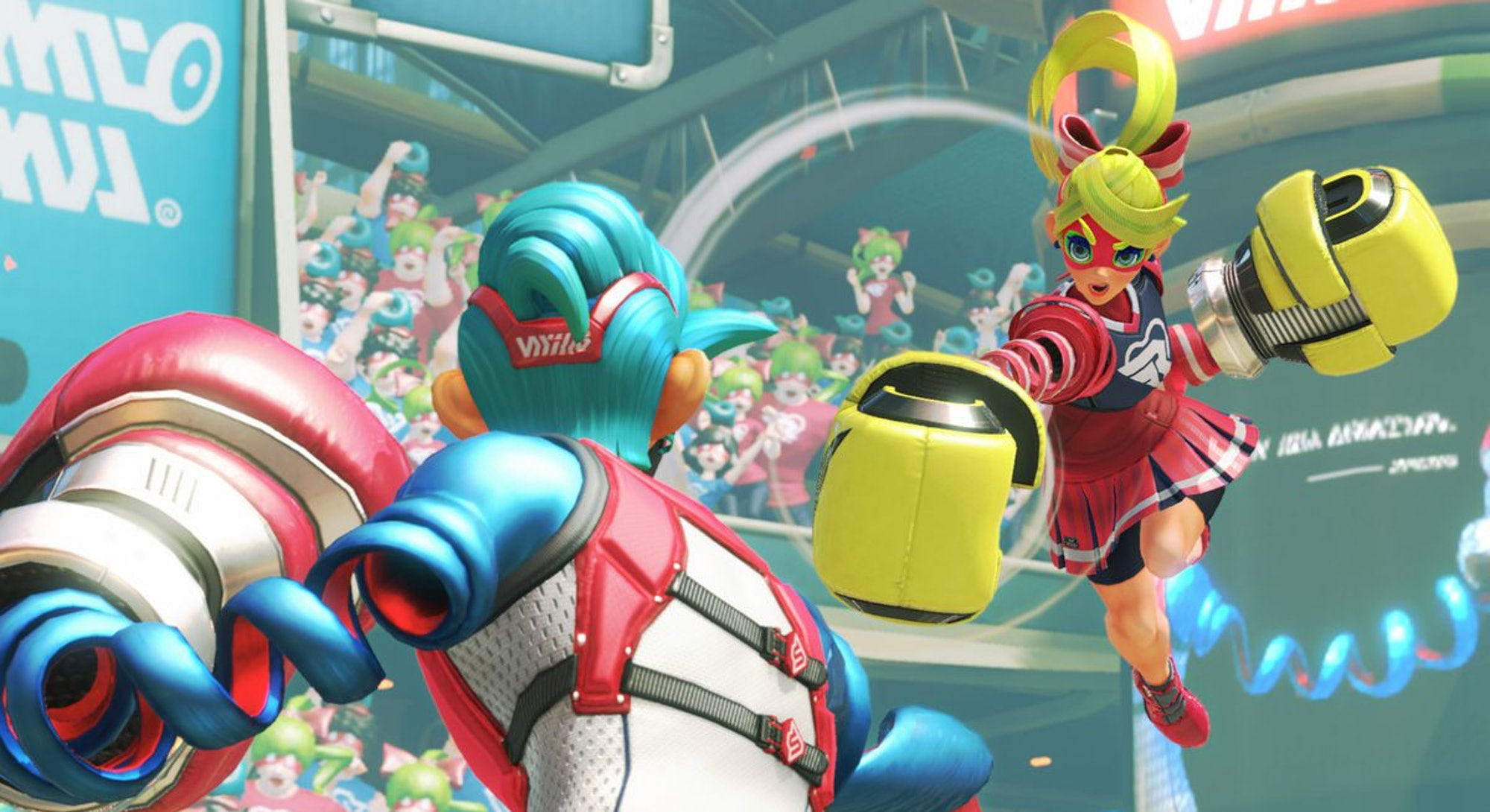 fight from arms on nintendo switch