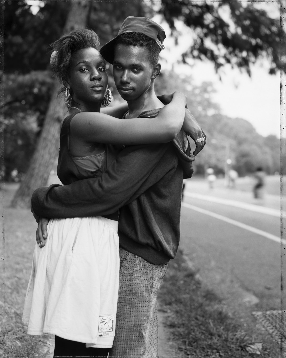 A couple photographed by Dawoud Bey