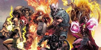 Avengers 5 1,000,000 B.C ancient marvel comics