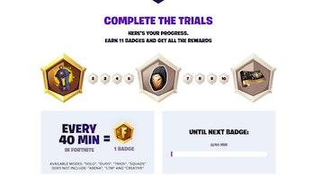 fortnite lantern trials rewards