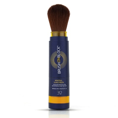 Brush On Block Translucent Mineral SPF Powder Sunscreen