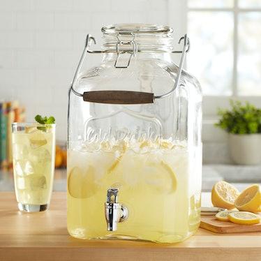 Better Homes & Gardens 2 Gallon Glass Beverage Dispenser
