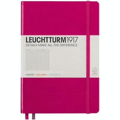 LEUCHTTURM1917 A5 Squared Hardcover Notebook
