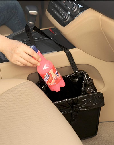 KMMOTORS Foldable Car Garbage Can